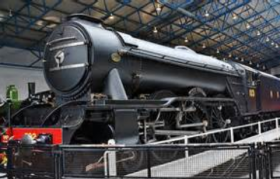 National Railway Museum, York - The Flying Scotsman -