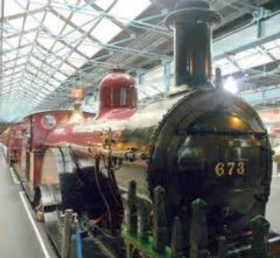 National Railway Museum, York - The 'Spinner' -
